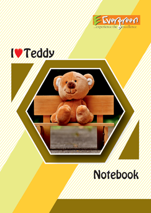 Candid School Note Book - 120 Pages
