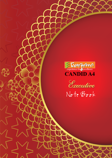 Candid A4 Size Note Book - 144 Pages