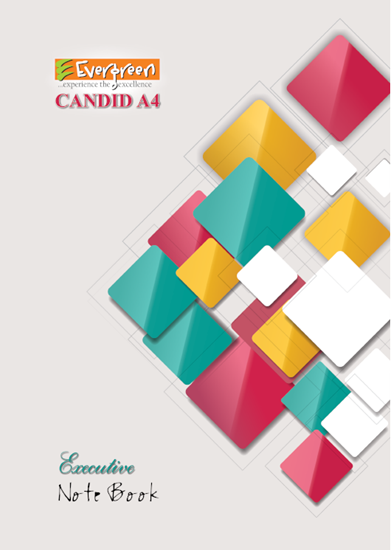 Candid A4 Size Note Book - 192 Pages