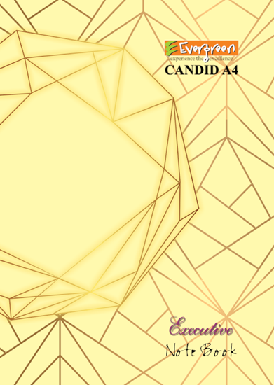 Candid A4 Size Note Book - 272 Pages (Executive Bind)