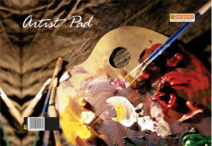 Candid A4 Aartistic Wiro Pad - 100 Pages